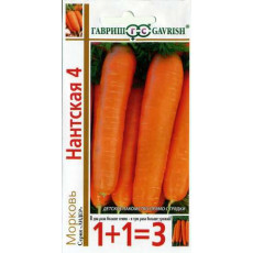 Морковь Нантская-4 1+1